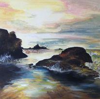Meer, Sturm, Malerei