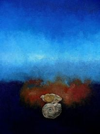 Ammonit, 2009, Malerei,