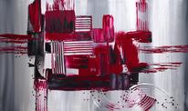 Abstrakt, Kunstdruck, Malerei,