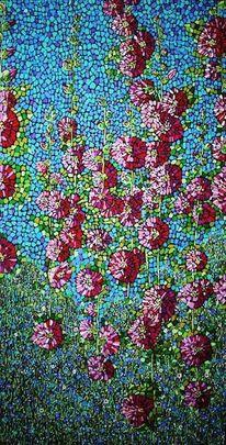 Blumen, Blüte, Flora, Malven