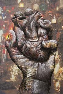 Menschen, Hand, Liebe, Herz