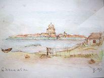 Aquarell, Mer
