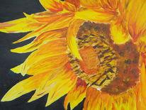 Blumen, Sonnenblumen, Malerei