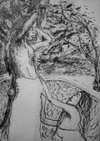 Mythologie, Naturm, Akt, Edding