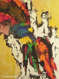 Deutschland, Malerei, Acrylmalerei, Pinsel