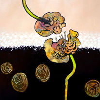 Blumen, Blüte, Purismus, Malerei