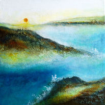 Sonne, Meer, Wasser, Felsen