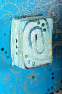 Energiebild, Blau, Licht, Transparenz