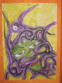 Malerei, Dämon