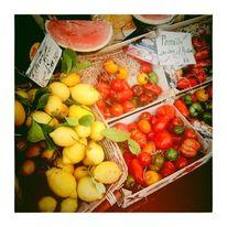 Markt, Frankreich, Paris, Obst gemüse