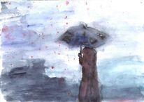 Nass, Tropfen, Regen, Kalt