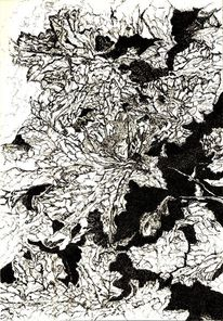 Zeichnung, Schwarz weiß, Zeichnungen