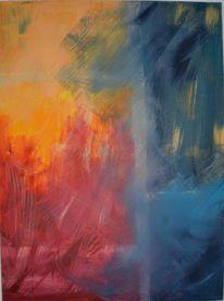 Abstrakte kunst, Acrylmalerei, Gemälde, Abstrakt