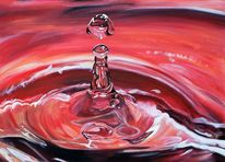 Wasser, Tropfen, Malerei