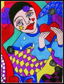 Malerei, Schmerz, Liebe