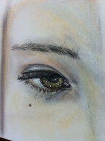 Auge kreide detail, Zeichnungen