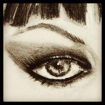 Auge detail, Zeichnungen