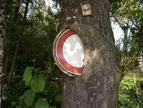 Durchfahrt verboten art, Fotografie, Verbot