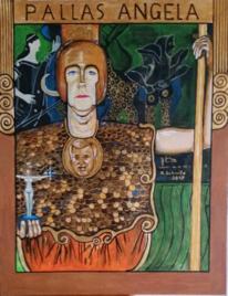 Acrylmalerei, Malerei, Portrait