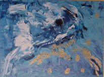 Spuren, Eis, Malerei