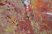 Abstrakt, Acrylmalerei, Gold, Schimmer