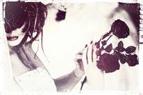 Rose, Schaufensterpuppe, Hochzeit, Braut