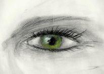 Augen, Malerei