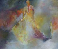 Malerei, 2015, Frau, Sein