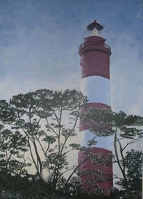 Meer, Küste, Amrum, Leuchtturm