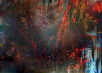 Passion, Dunkel, Kreuzigung, Malerei