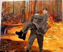 Soldat, Hindukusch, Militär, Malerei