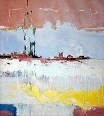 Obras, Aguilar abstrakt modern, Malerei, Golf