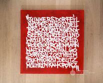 Charity, Köln, Graffiti, Acrylmalerei
