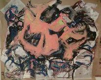 Malerei, Orange