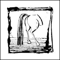 Pferde, Glück, Tiere, Malerei