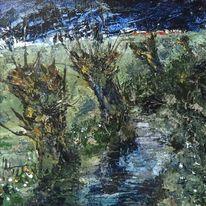 Sommer, Idylle, Nordsee, Landschaftsmalerei