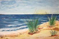 Wasser, Sand, Ostsee, Sommer