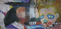 Gemälde, Amerika, Surreal, Pastellmalerei