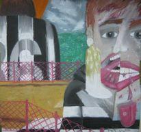 Gemälde, Betrayal, Pastellmalerei, Surreal