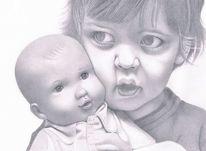 Trauma, Angst, Programm, Zeichnungen