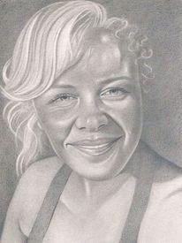 Bleistiftzeichnung, Realismus, Portrait, Zeichnungen