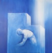 Menschen, Figur, Licht, Malerei