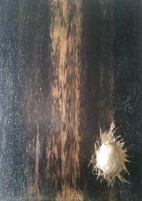 Glasfaser, Skarabäus, Gold, Malerei