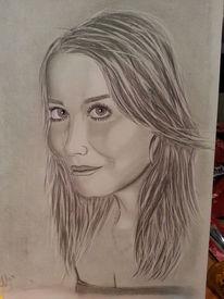 Bleistiftzeichnung, Portrait, Zeichnungen