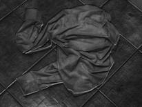 Hemd, Kachel, Abgrund, Fotografie