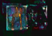 Schatten, Gestallt, Gesicht, Digitale kunst