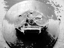 Seife, Uhrwerk, Metall, Fotografie