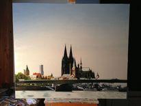 Gemälde, Realismus, Köln, Malerei