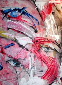 Vision, Augen, Gefühl, Portrait