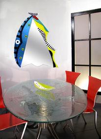 Modern, Designspiegel, Design, Glas